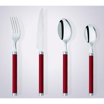 CS2006 promotional plastic handle cutlery set