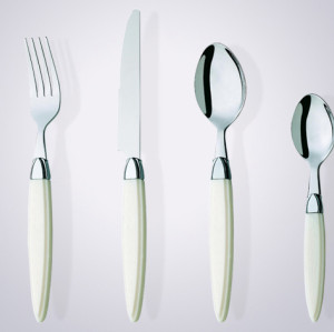 abs handle flatware set