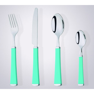 elegant Design Plastic Handle Stainless Steel Cutlery