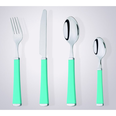 elegant Design Plastic Handle Stainless Steel Cutlery
