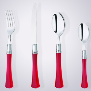 18/10 plastic handle stainless steel cutlery factory