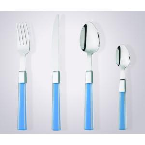 new design high quality plastic handle tableware set