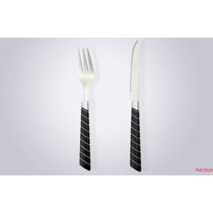 Plastic Handle Cutlery Stainless Steel Colorful Plastic Handle Cutlery