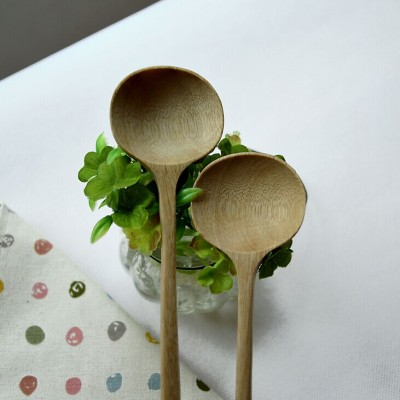 New Products Zakka Style Wholesale Natural Wooden Ladle, Soup Spoon, Stirring Spoon