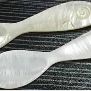 New Product Wholesale mother of pearl caviar spoon