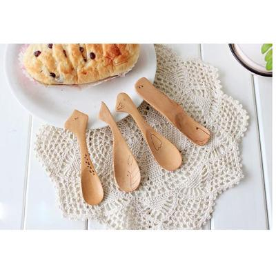 High Quality Mini Bamboo Wooden Spoon