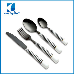 Classic ceramic handle cutlery