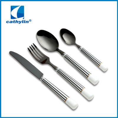 Classic ceramic handle cutlery
