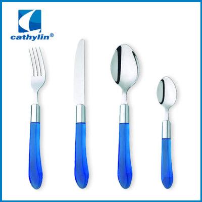 Plastic PP handle Cutlery with Machine Polishing