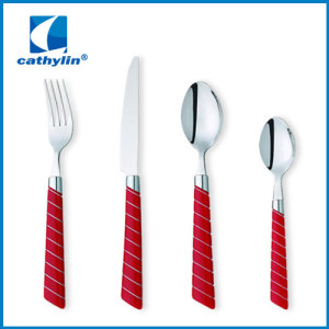 Stainless Steel Plastic Handle Cutlery With Competitive Price