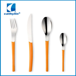 Design Plastic Handle Stainless Steel Cutlery