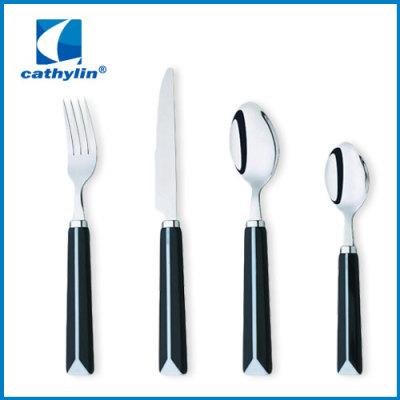 fashion plastic cutlery set