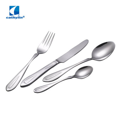 CS6685 stainless steel flatware tableware 24 pcs cutlery set in gift box