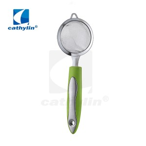 CK0042 stainless steel fine mesh strainer for kitchen