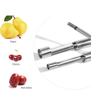 Wholesale 4 size cheap stainless steel fruit slicer cutter peeler apple corer