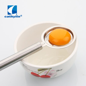 Dishwasher Safe Kitchen Tool Stainless Steel Egg Filter White Yolk Egg Divider