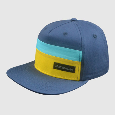 100% Cotton Snapback Cap With Applique Embroidery