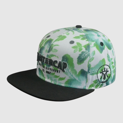 Cotton Embroidery Snapback Cap