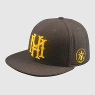 100% Polyester  Snapback Hat with Embroidery