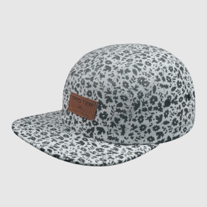 5 Panel Leather Patch Logo Snapback Hats/Caps