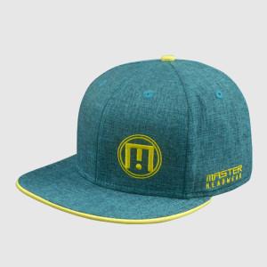 Dark Green Embroidery Snapback Hats/Caps