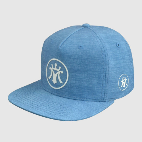 Snapback Hats with Print Logo and Plastic Back Strap