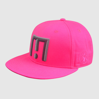 Hip Hop Embroidery Pink Snapback Hats