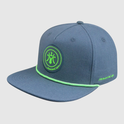 5 Panel Green Printing Snapback Hats with Embroidery