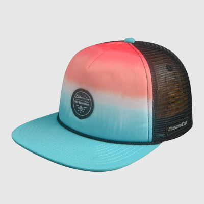 5 Panel Snapback Hats/Caps with Plastic Back Strap