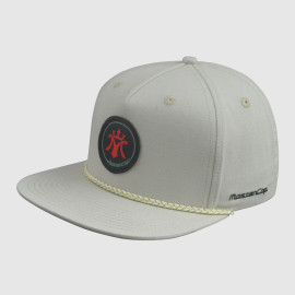 Applique Snapback Hats Upper Peak with Ribbon