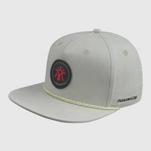 Applique Snapback Hats Upper Peak with Ribbon