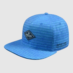 Blue Woven Embroidery Snapback Hats/Caps