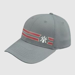 Gray Printing Baseball Cap