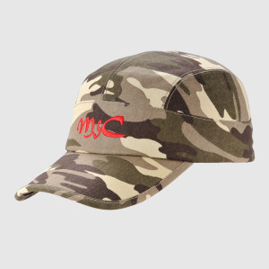 Camo Embroidery Army Cap