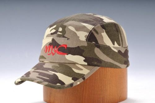 Camo Embroidery Army Cap