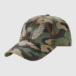 Camo Embroidery Army Cap With Nice Logo