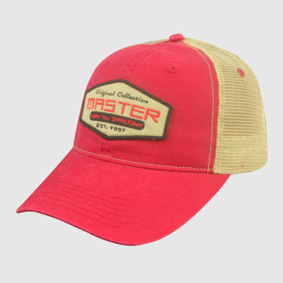 Red/Yellow Embroidery Trucker Cap