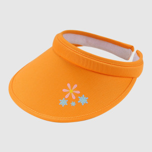 Long Bill/Wide Brim Plastic Sun Visor Cap