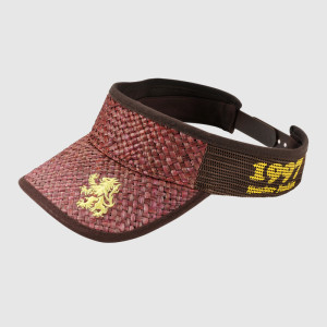 Embroidery Grass Sun Visor Cap