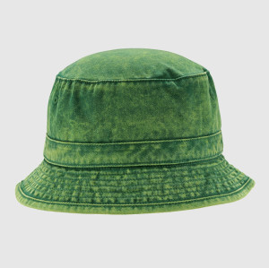 Washing Green Bucket Hat and Cap