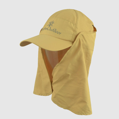 Printing Khaki Outdoor Hat and Cap