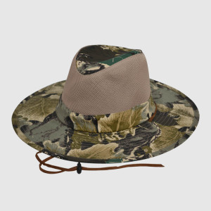 Camo Outdoor Hat and Cap