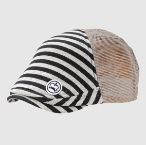 Embrodery Stripes ivy cap