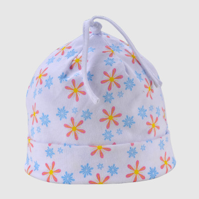 Disney Babyl cap with flat flower Printing logo