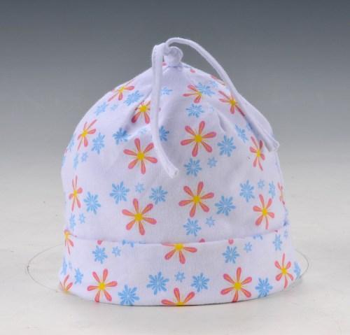 Disney Babyl cap with flat flower Printing logo