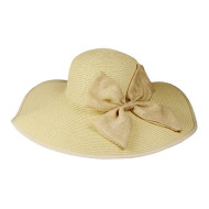 Straw Hat With Big Bow