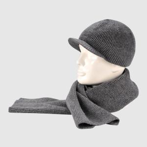 Gray Knit Winter Set