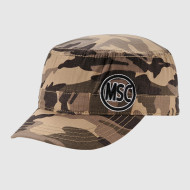Camo Army Cap With Embroidery