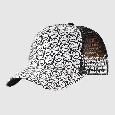 Printing Trucker Cap With Woven Label
