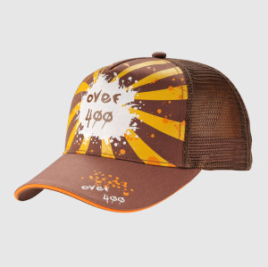 Coffee Printing Trucker Cap